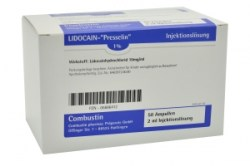LIDOCAIN - Presselin 1% 50 x 2ml